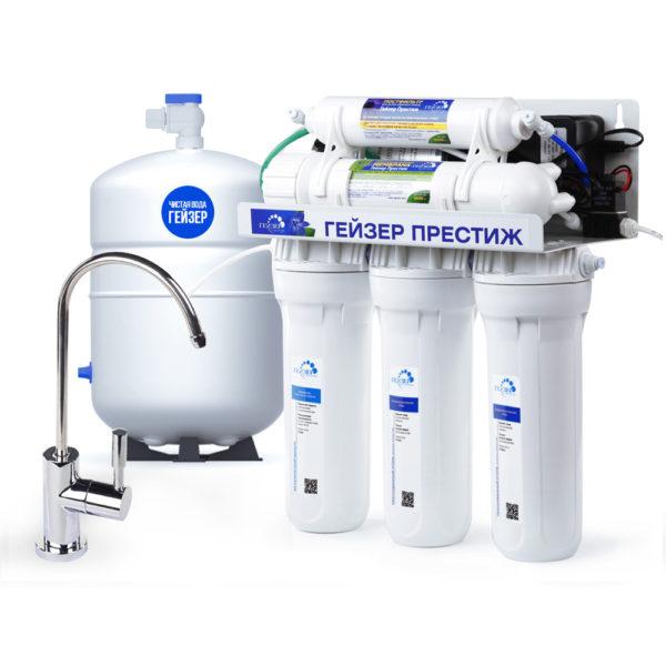 Гейзер Престиж-П (бак - 12 литров, кран №6)